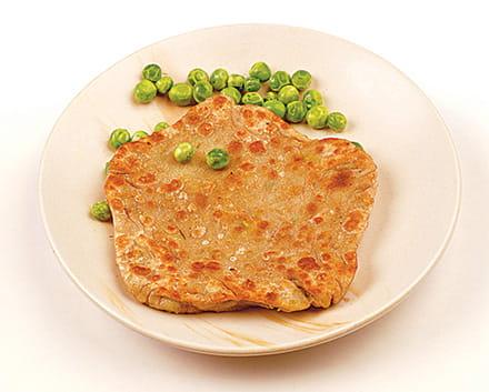 Spicy Matar Paratha
