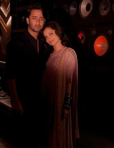 Shaheer Sheikh and Ankita Lokhande