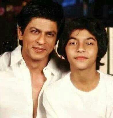 Shahrukh Khan and Aryan Khan